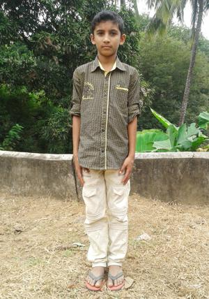 Sponsor Arjun Mohan